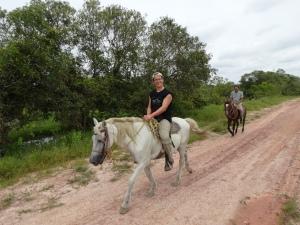 caminando en cavallo