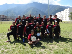 """equipo """"vulcano"""" - campeones de Mérida"""