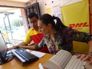 kompentenzteam der DHL-venezuela.