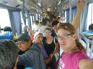 Bus über die Grenzen Paraguay-Brasilien-Argentinien