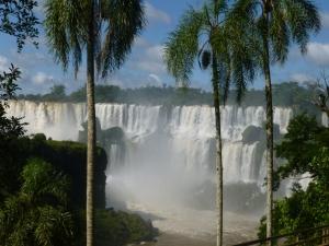 Iguazú-Fälle (Ausschnitt)