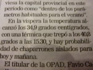 "40,8°C sind innerhalb der ""normalen Parameter""."