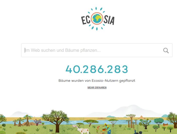 ecosia 40 mio