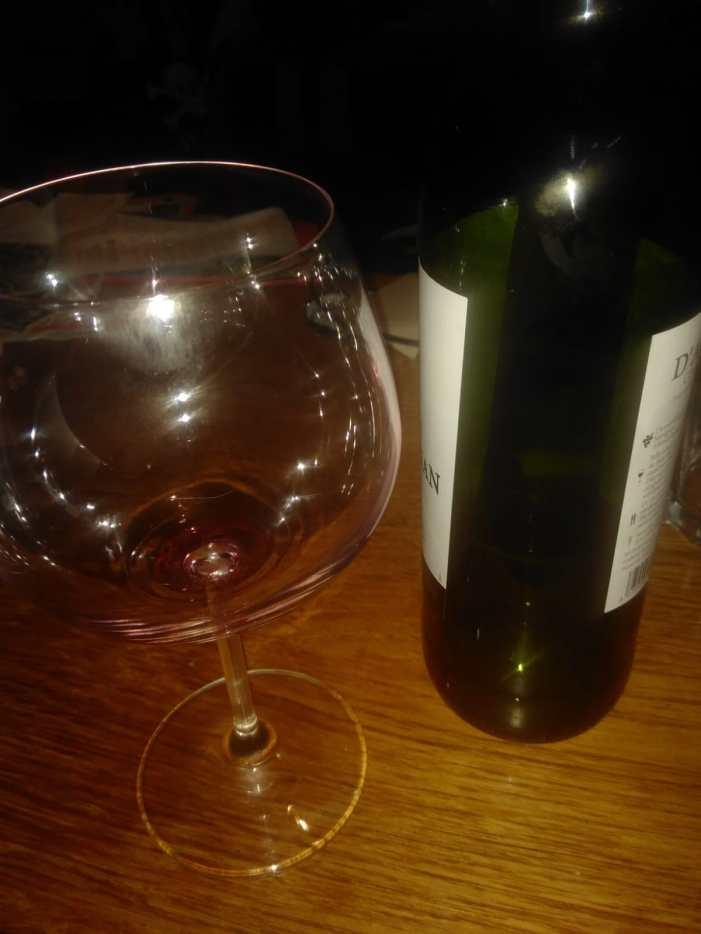 hmmm, Rotwein, fein!
