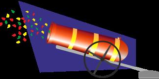 konfetti kanone pix Q